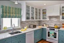 KITCHENS / Dream Kitchens, Inspiration, Storage and Organization