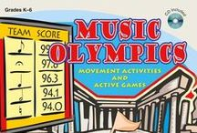 Music Games for the Classroom / Keep your students active while learning music concepts with these fun games!