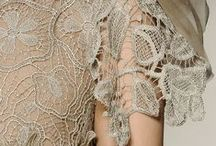 Lace, Beads, Feathers, Braids & Other Details. / All kinds of decorative motifs!