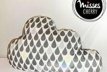 Wolkenkissen Cloud Pillow [www.misses-cherry.de Pattern]