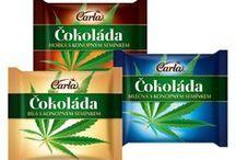 Produkty z konope / Potravinové produkty z konope. Vysoko kvalitný olej s Omega 3 a Omega 6. Konopné semienka, otruby, proteín.