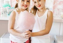Little Girl's party ideas / Sugar and Spice and all things nice...