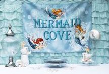 Mystical Mermaids party ideas / Mermaid Cove party ideas