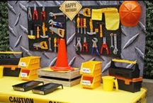 Construction Party / We can build it! CAUTION Party zone under construction.