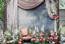 Wedding backdrop ideas / Inspiring ways to set off your ceremony decor and exchange vows in front of.