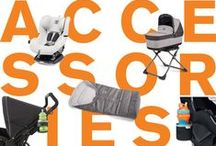 Favorite Accessories / Accessorize your favorite Peg Perego gear! Our full line features everything from chic baby bags to must-have cup holders to cozy cold-weather accessories. / by Peg Perego