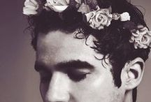 Flower Crown / Couse if you like him you should photoshop a flower crown on him. If you like it you should photoshop a flower crown on him