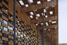 I bioclimatic architecture I / Protetores solares na Arquitetura, Brises, cobogós, Marquises...