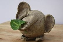 Mumbo Jumbo / Elephants portraited in unexpected ways