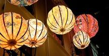 Lantern Light / Asian Lanterns, mainly those made out of Paper or Textile