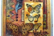 My works  / Moje prace / cards, tags, ATC, handmade, arts&crafts