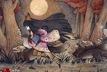 Artist: Sarah Greybill - Tea Fox illustrations