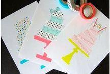 Cartes anniversaire / cartes d'anniversaires DIY