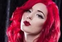 """"""" Red Hair Shades """" / Red hair is so attractive one but this color damages hair too much. You can protect your hair from this situation via natural hair care products like  ARGANRain products."""