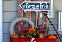 Wandaful Fall Decorating / Wandaful Fall Decorating ideas for indoors and outdoors.