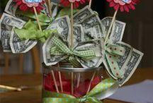 Wandaful Money Gift Ideas / Wandaful creative ways to give gifts of money.