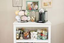 """""""Wandaful"""" Beverage stations / A great collection of ideas on how to make and have your own beverage station."""