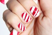 Holiday Nail Art / We're dreaming of some Fancy nails for during the holidays.