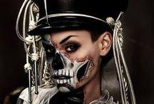 Make up: Halloween