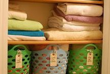 Wandaful Organizing Tips & Tricks / Lots of great tips and tricks to keep every room in the house organized.
