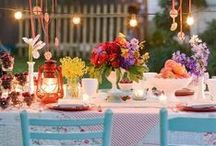 Let's Get Fancy / A twinkle of Pinteresting things to make a dinner party Fancy!