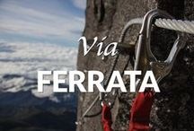 """Best Klettersteig / Via Ferrata's / We help you explore the best """"iron roads"""" A.K.A. protected climbing routes around the world"""