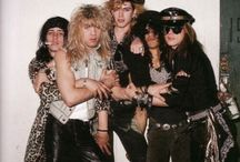 Guns n Roses / Slash, Duff, Izzy and Steven