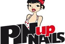 Pin up Nails / If you love 1940s fashion , here is great pin up nail art ideas!