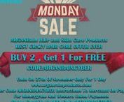 Cyber Monday / ARGANRain Hair and Skin Care Products BEST CRAZY HAIR CARE OFFER EVER CYBER MONDAY BUY 2 , Get 1 For FREE CODE:ARGANRAINCYBER Ends On 27th Of November Only For 1 Day www.arganrainproducts.com  Enter Code ARGANRAINCYBER Instructions To Merchant On Paypal For Moneygram And Western Union Payments Please Email To Us With Code ARGANRAINCYBER info@arganrain.net