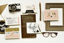 STATIONERY / by Noemie | As Ink Remains