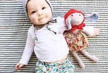 Baby / Find patterns and inspiration for sewing baby clothes. Find inpiration for furnitures and small everyday solution when you have a baby in the house. / by Line Jørgensen