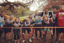 Tough Mudder Take 2 - Nov 12 / Working together to complete the 12 mile obstacle course, raising money for Claire House Childrens hospice. HOORAH! #ToughMudder