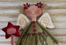 Fabric Dolls / by Kitty and Me Designs