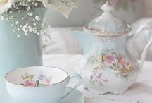 Time For Tea / Pretty teacups, teapots and other things related to having tea.
