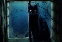 I Love Cats / Cat Art and Handmade Cats.  Cat Photos and Cute Cat items.  Here kitty, kitty!  I love cats!