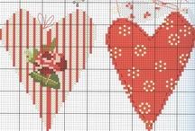 Cross Stitch Patterns / Counted cross stitch