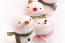 Snowmen / Everything related to pretty and cute little snowmen.