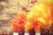 Orange / #Orange #ColourInspiration #Monochromatic / by Risma Viljoen