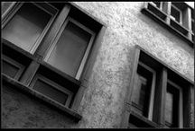 Black I White I Grey / #Black #White #Grey #ColourInspiration #Monochromatic #ExtremeNeutrals / by Risma Viljoen