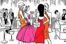 Sex and the City / #SATC  #PatriciaField / by Risma Viljoen