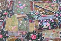 Antique Crazy Quilts / A showcase of antique Victorian Crazy Quilts