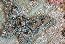 Beaded Embroidery / Embroidery with beads