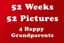 The 52 Family Pix Project / Snap and share a picture (or several) each week for one year.  Keep in closer touch with parents, grandparents, siblings.