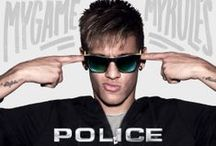 S1936 / The POLICE S1936 range as modelled by Neymar Jr in our My Game My Rules campaign.