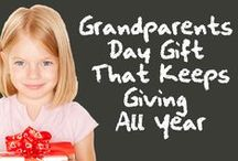 Grandparents Day Grand Ideas / Grand ideas for honoring Grandparents this Grandparents Day (Sunday, September 7th).  #grandparentsday