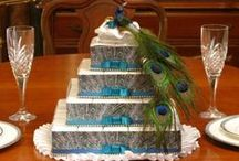 Pretty as a Peacock / Peacock weddings, ideas, supplies, decorations, gifts, dresses, table settings, centerpieces and more! Show off exotic colors of turquoise, purple, teal and green!