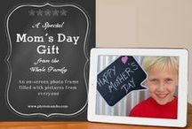 Mom's Day: How to Create a Photo Gift from the Whole Family / Rally the whole family to create a photo gift for Mom and Grandma this Mother's Day.