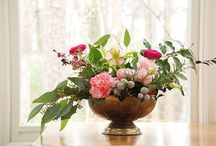 Camellia love / Inspiration for a camellia floral arrangement.