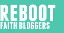 Reboot Faith Bloggers Group / This is the spiffy blogger hub for Reboot Mini Course members.  If you want to become a Reboot member yourself and get access to the members-only Facebook support group, the Pinterest group, along with our full curriculum, visit https://tinyurl.com/reboot-faith-bloggers