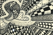 ZENTANGLES / EXTREME DOODLING!! / by Darsi Arwood